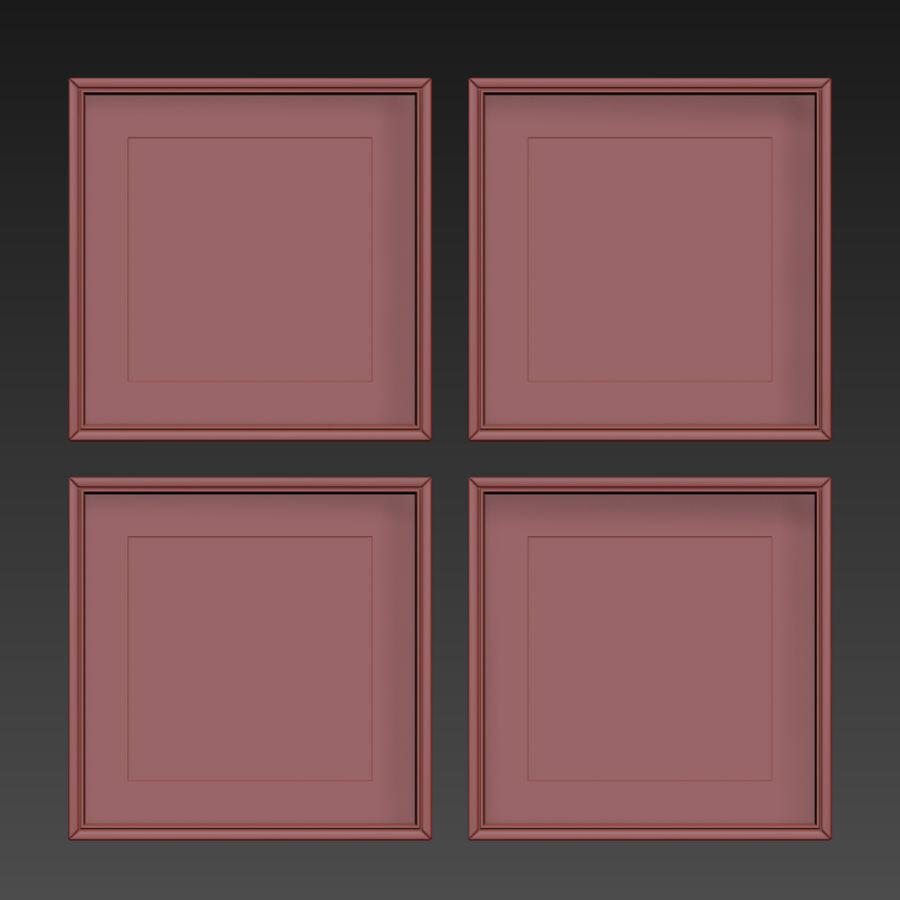 Fotolijsten Set -111 royalty-free 3d model - Preview no. 11