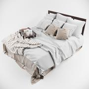 Bed Mallowston 3d model