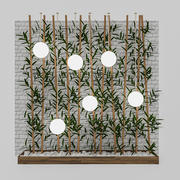 3D Bamboo Decor 3d model