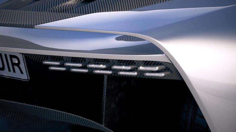 Aston Martin Valhalla 2020 royalty-free 3d model - Preview no. 17