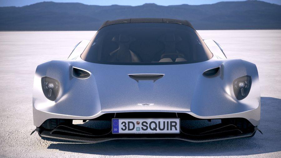 Aston Martin Valhalla 2020 royalty-free 3d model - Preview no. 10