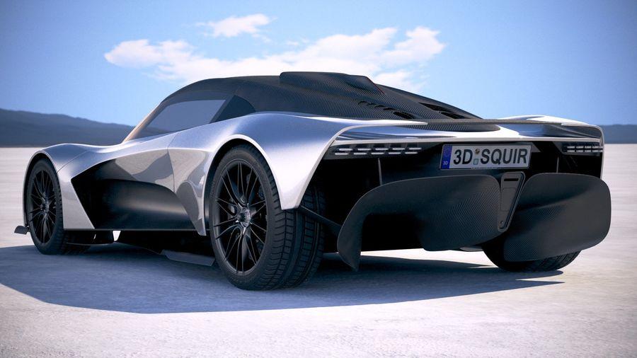 Aston Martin Valhalla 2020 royalty-free 3d model - Preview no. 14