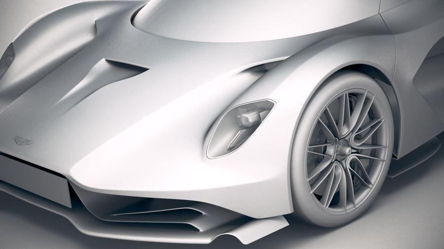 Aston Martin Valhalla 2020 royalty-free 3d model - Preview no. 19