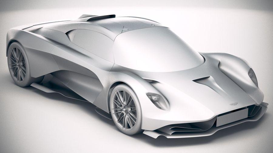 Aston Martin Valhalla 2020 royalty-free 3d model - Preview no. 22