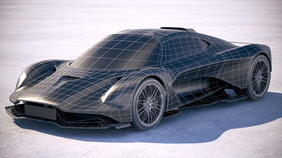 Aston Martin Valhalla 2020 royalty-free 3d model - Preview no. 27