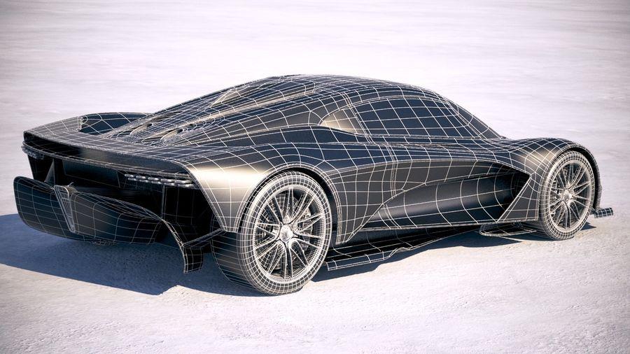 Aston Martin Valhalla 2020 royalty-free 3d model - Preview no. 28