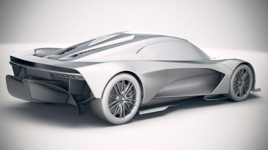 Aston Martin Valhalla 2020 royalty-free 3d model - Preview no. 21