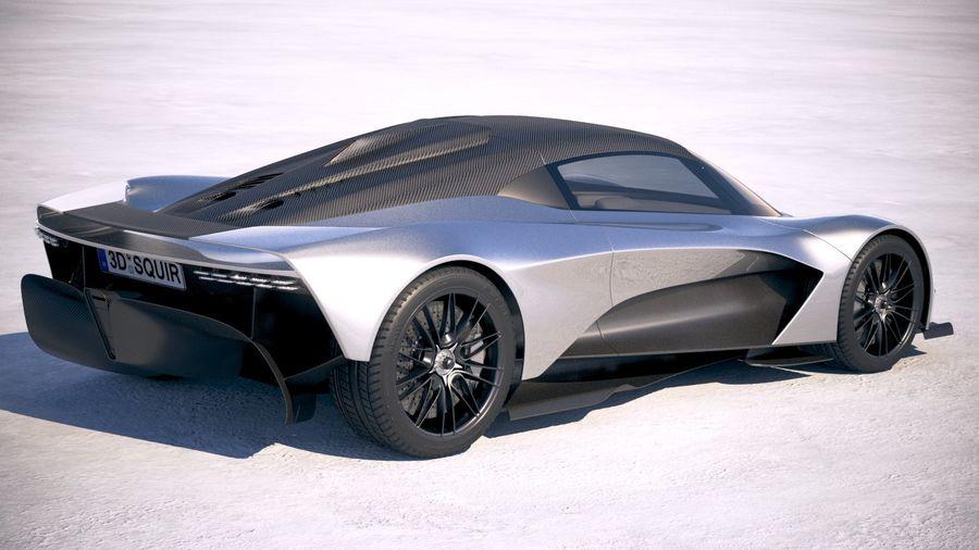 Aston Martin Valhalla 2020 royalty-free 3d model - Preview no. 5