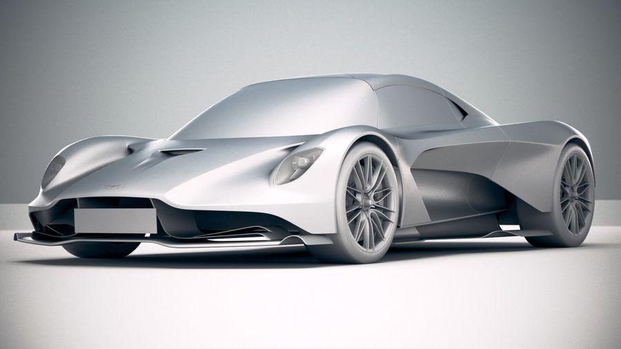 Aston Martin Valhalla 2020 royalty-free 3d model - Preview no. 23