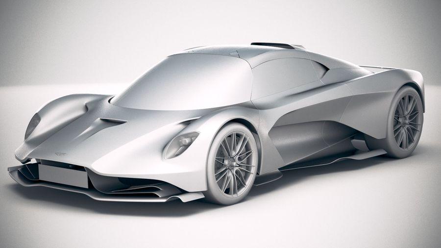Aston Martin Valhalla 2020 royalty-free 3d model - Preview no. 18