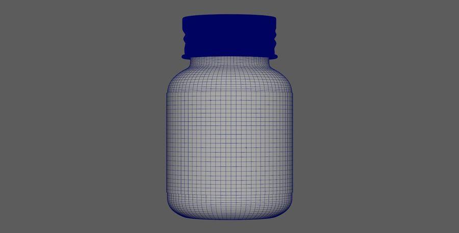iNDUSTRiAL Medyczna szklana butelka royalty-free 3d model - Preview no. 7