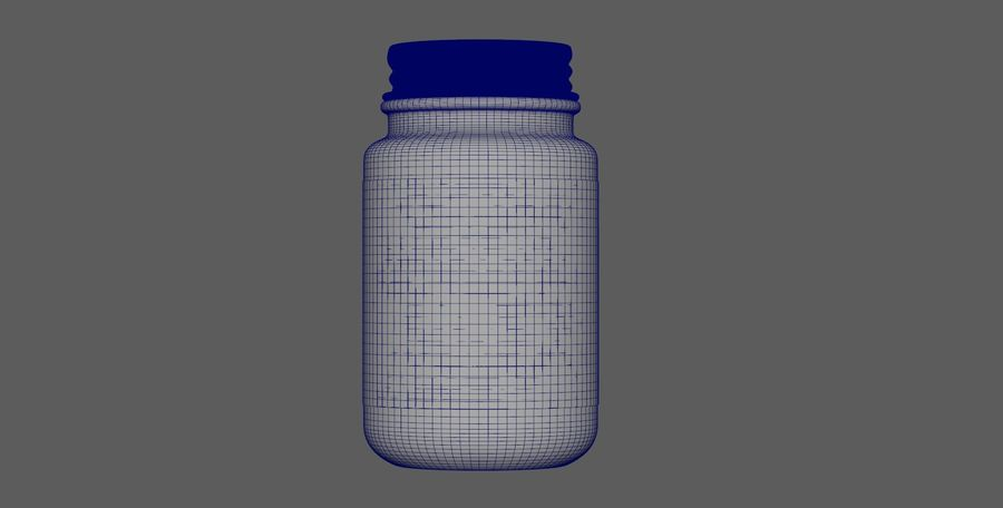 iNDUSTRiAL Medical Glass Bottle royalty-free 3d model - Preview no. 5