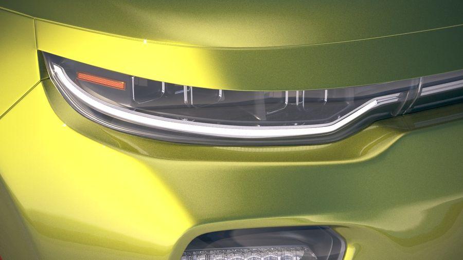 Kia Soul EV 2020 royalty-free 3d model - Preview no. 16