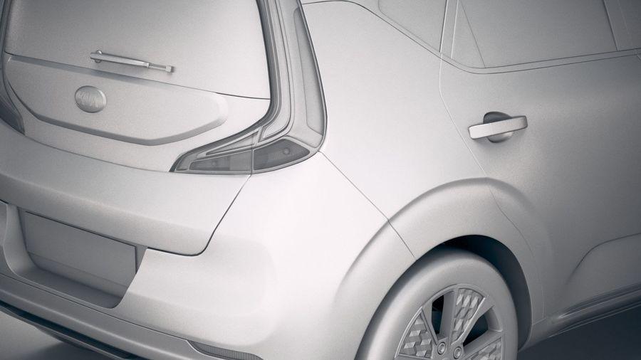 Kia Soul EV 2020 royalty-free 3d model - Preview no. 20