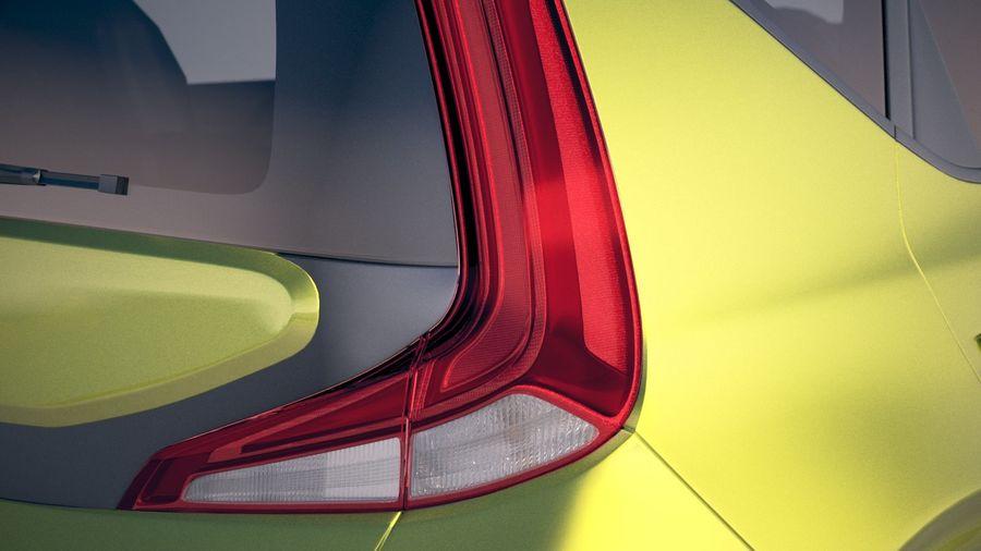 Kia Soul EV 2020 royalty-free 3d model - Preview no. 17