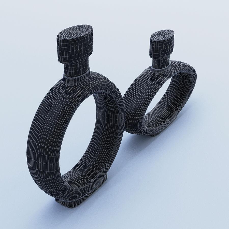 黑色Dec水器玻璃 royalty-free 3d model - Preview no. 5