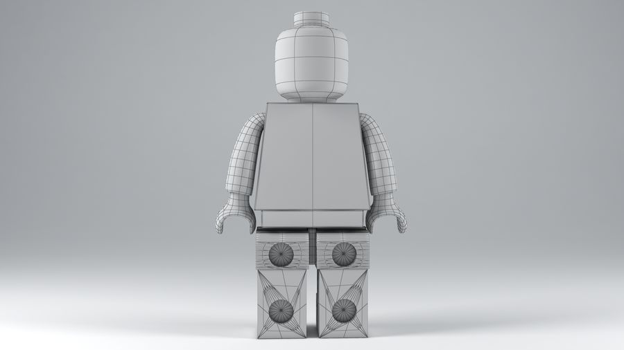 Lego Classic Model royalty-free 3d model - Preview no. 12