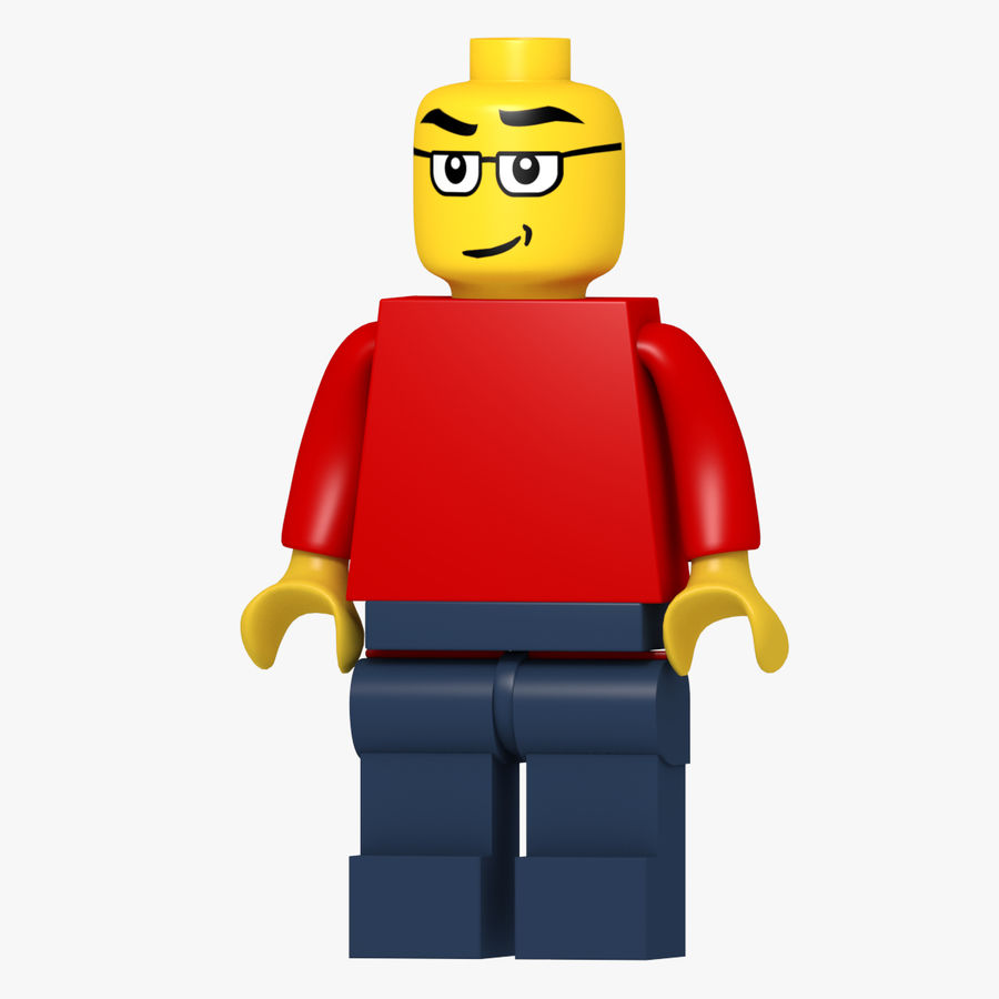 Lego Classic Model royalty-free 3d model - Preview no. 1
