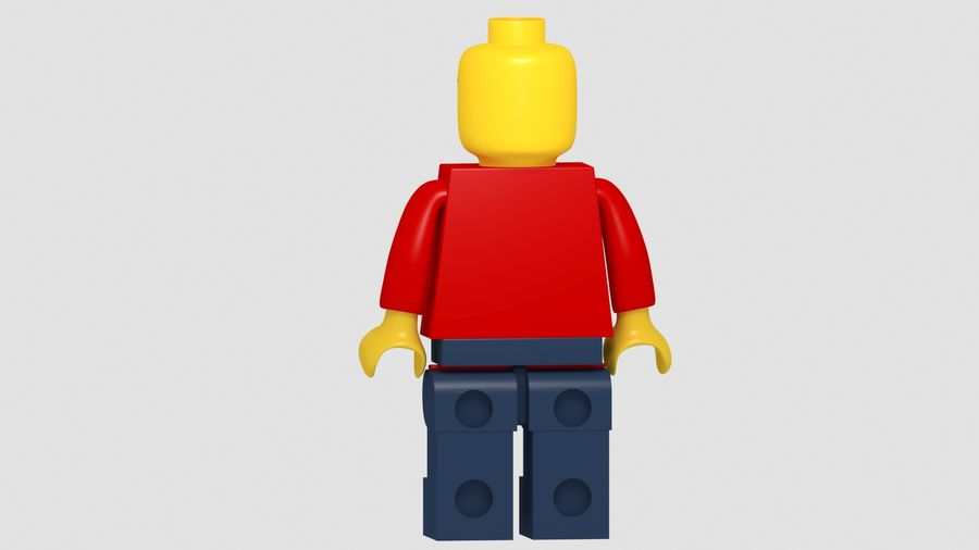 Lego Classic Model royalty-free 3d model - Preview no. 5