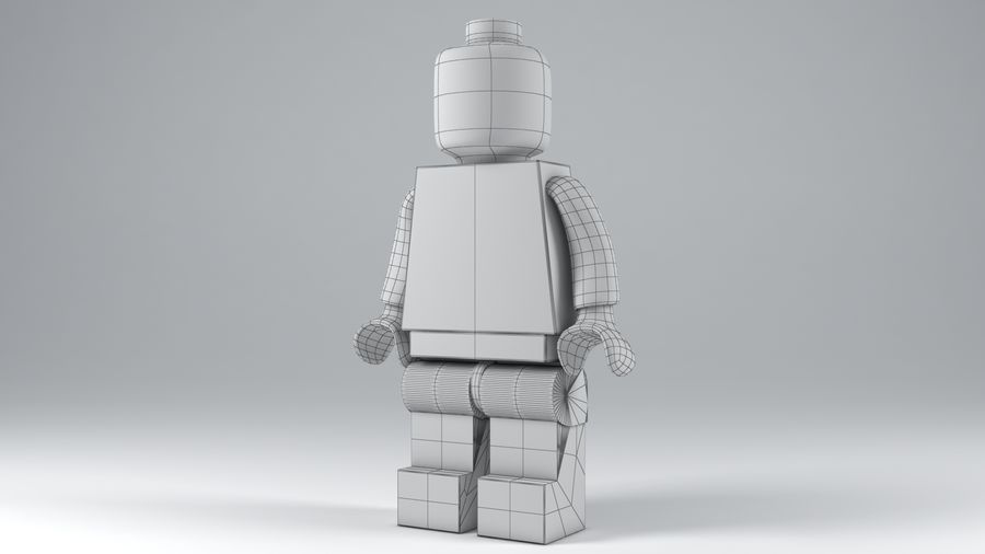 Lego Classic Model royalty-free 3d model - Preview no. 9