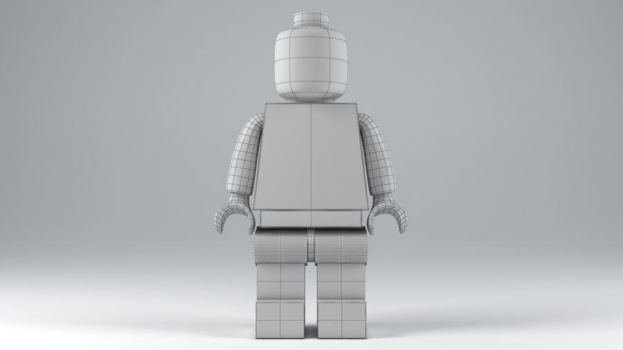 Lego Classic Model royalty-free 3d model - Preview no. 10