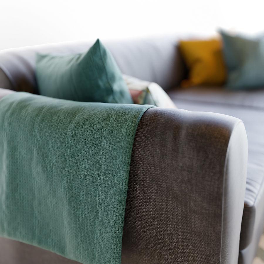 Zestaw do salonu z sofą royalty-free 3d model - Preview no. 6