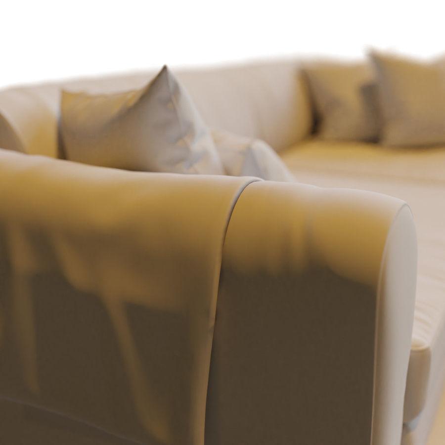Zestaw do salonu z sofą royalty-free 3d model - Preview no. 17