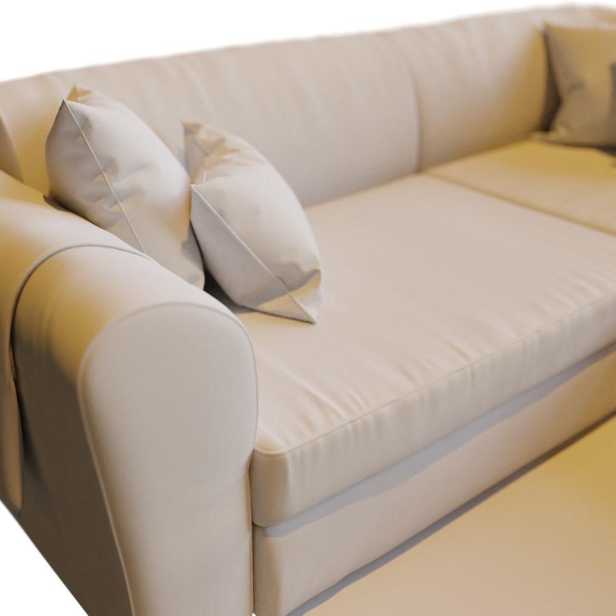 Zestaw do salonu z sofą royalty-free 3d model - Preview no. 11