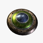 Blocking shield 3d model