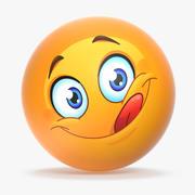 Emoji v010 3d model