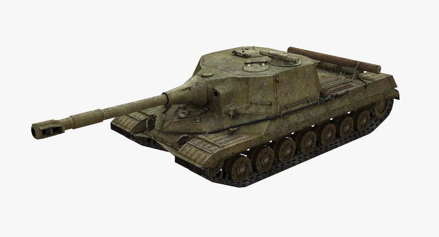 自行火炮对象268 royalty-free 3d model - Preview no. 2