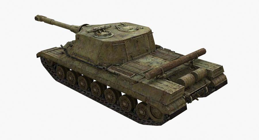 自行火炮对象268 royalty-free 3d model - Preview no. 3
