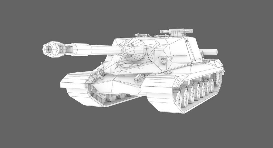 自行火炮对象268 royalty-free 3d model - Preview no. 12