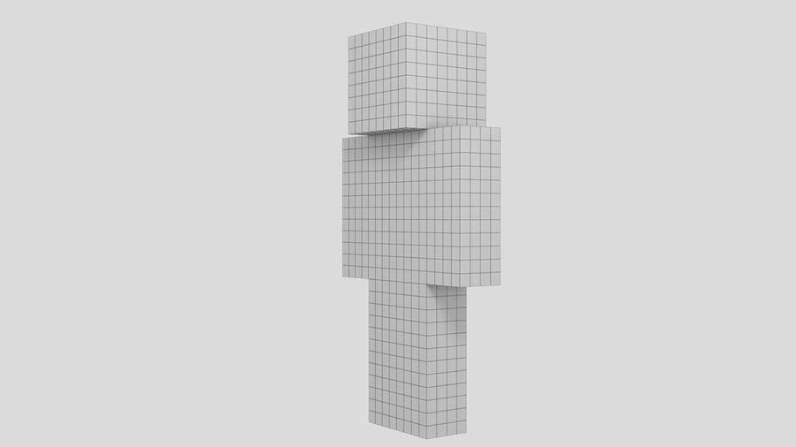 Steve Carácter de Minecraft royalty-free modelo 3d - Preview no. 7