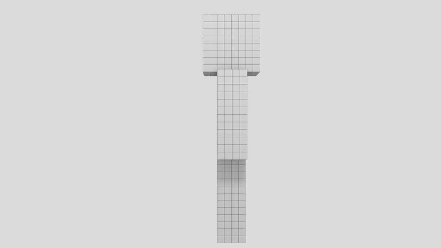 Steve Carácter de Minecraft royalty-free modelo 3d - Preview no. 8