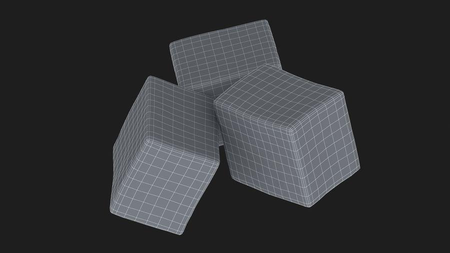 Sugar Cube royalty-free 3d model - Preview no. 17