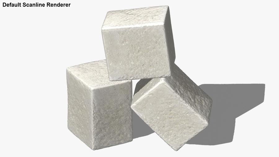 Sugar Cube royalty-free 3d model - Preview no. 23