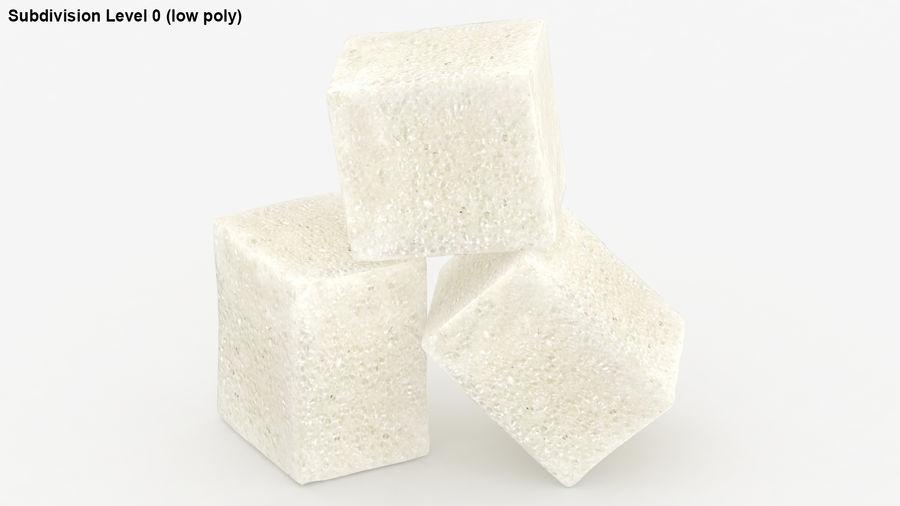 Sugar Cube royalty-free 3d model - Preview no. 20