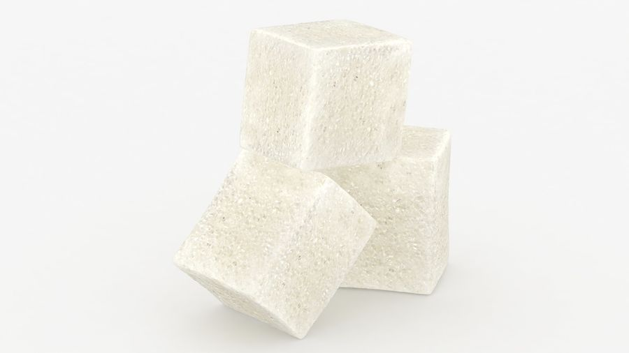 Sugar Cube royalty-free 3d model - Preview no. 14