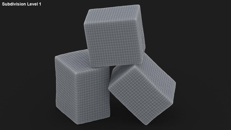 Sugar Cube royalty-free 3d model - Preview no. 22
