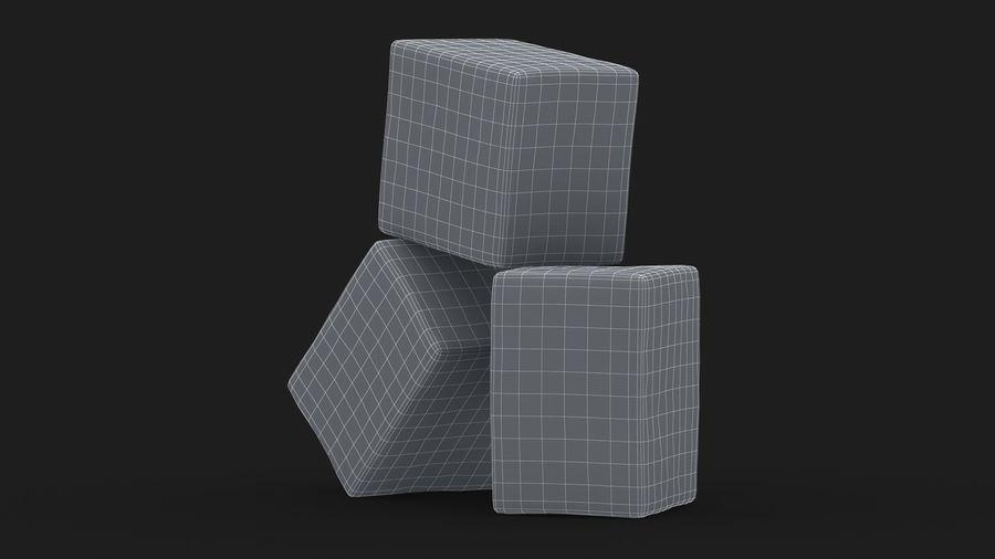 Sugar Cube royalty-free 3d model - Preview no. 18
