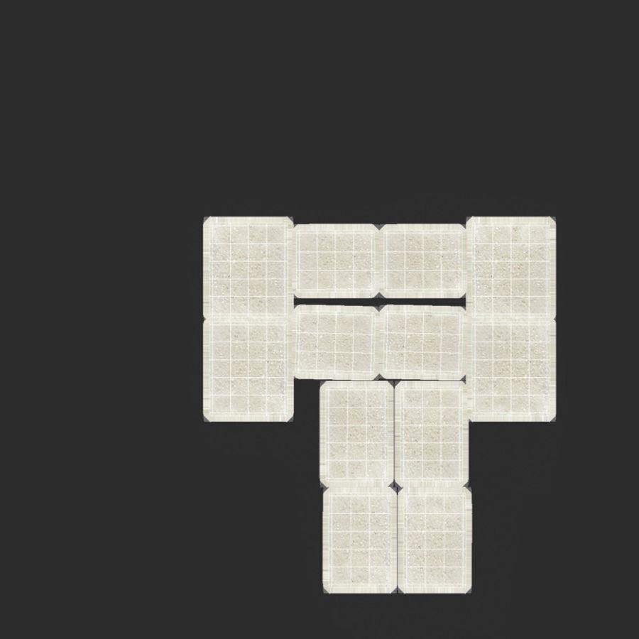 Sugar Cube royalty-free 3d model - Preview no. 24