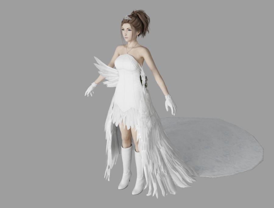 유나 웨딩 royalty-free 3d model - Preview no. 1