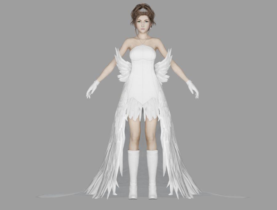 юна свадьба royalty-free 3d model - Preview no. 2