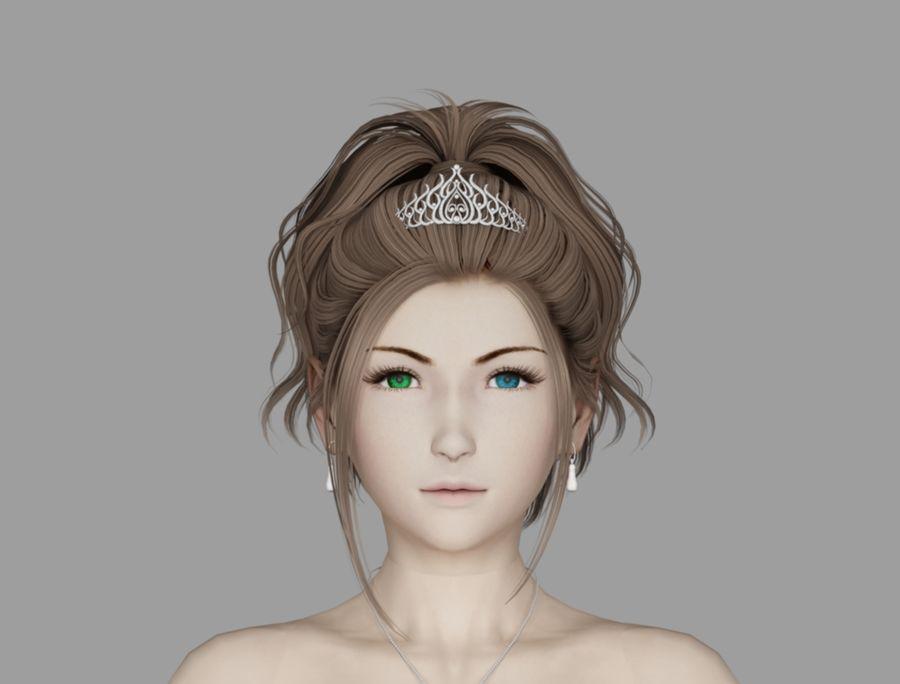 유나 웨딩 royalty-free 3d model - Preview no. 6