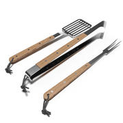 Barbecue BBQ tools set 3d model