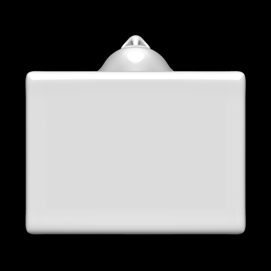 Głowa manekina royalty-free 3d model - Preview no. 9