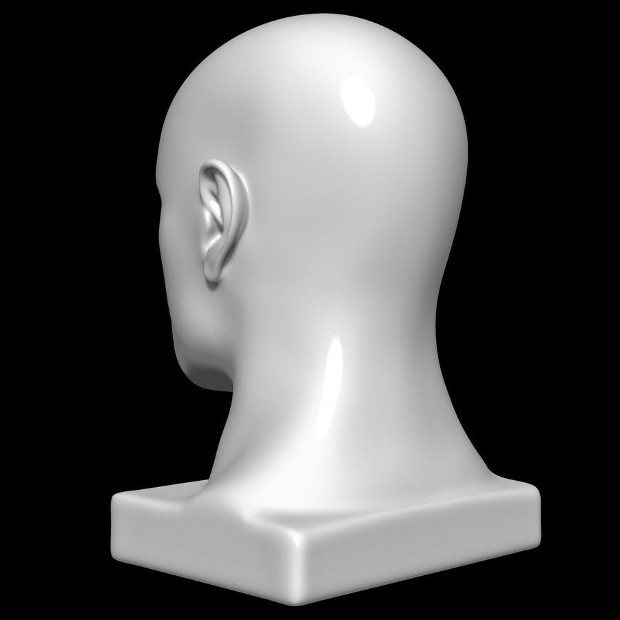 Głowa manekina royalty-free 3d model - Preview no. 6