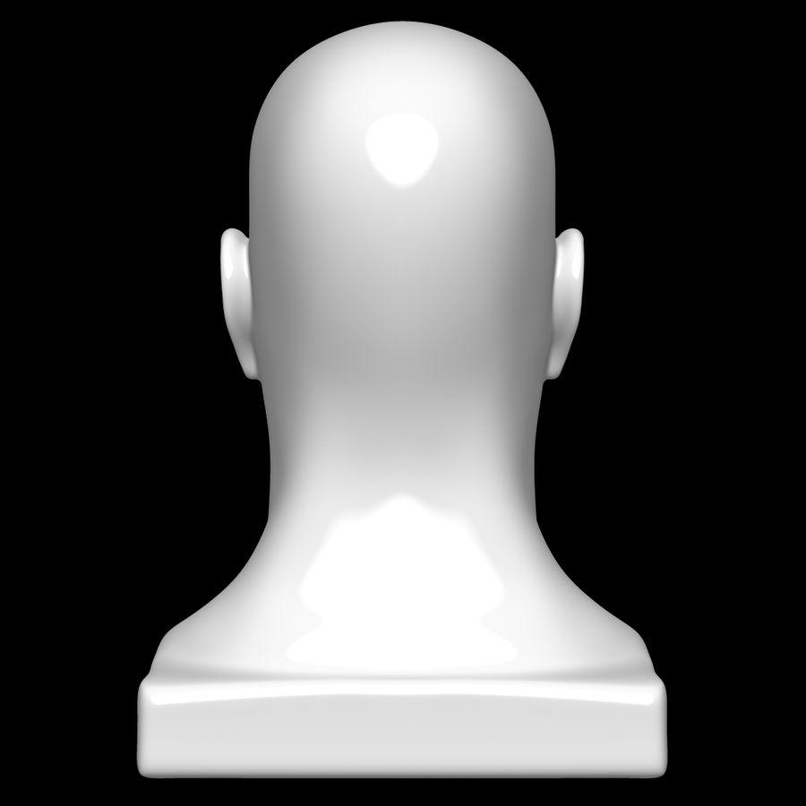 Głowa manekina royalty-free 3d model - Preview no. 5