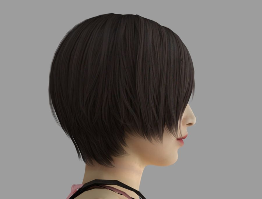 Ada Wong jurk royalty-free 3d model - Preview no. 7